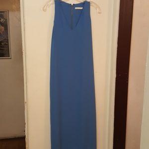 Alice and Olivia blue loose maxi dress